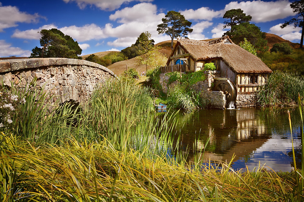 Sandyman's Mill in Hobbiton